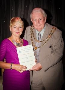 Denise Wilson with Derek Grattidge